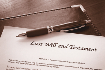 When you need to contest a will; what is the procedure
